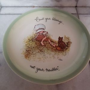 Holly Hobbie Decortive Plate Collectors Ed…